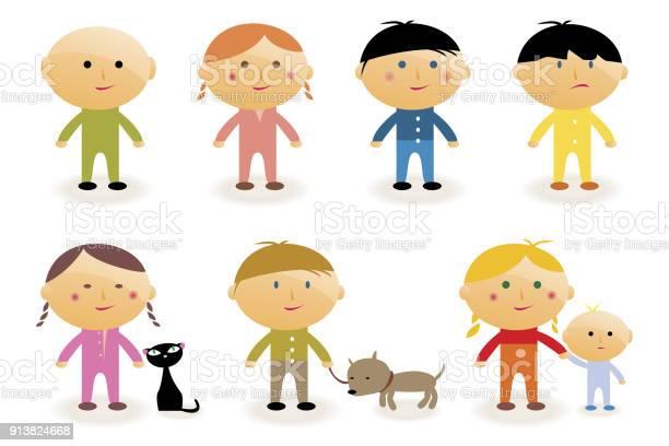 Cartoon children collection vector id913824668?b=1&k=6&m=913824668&s=612x612&h=lhtq euvq4oc6xmxcoscsz6ytar9j0zsquf e18qjwq=