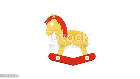 Cartoon children toy vector icon