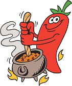 cartoon chili