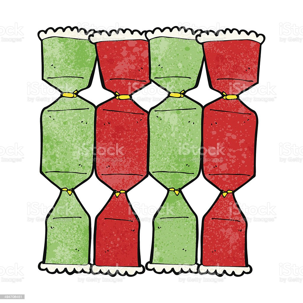Christmas Cracker Vector.Christmas Cracker Clipart