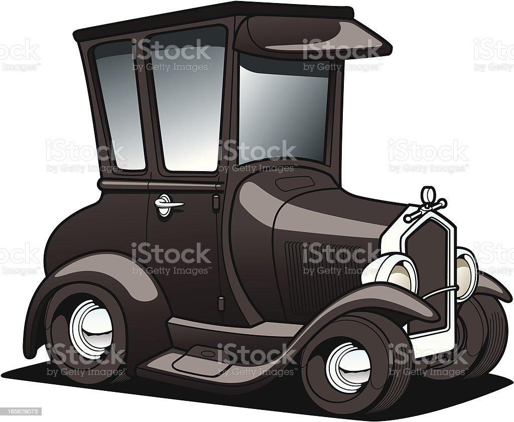 cartoon Classic car royalty-free cartoon classic car stock vector art & more images of car