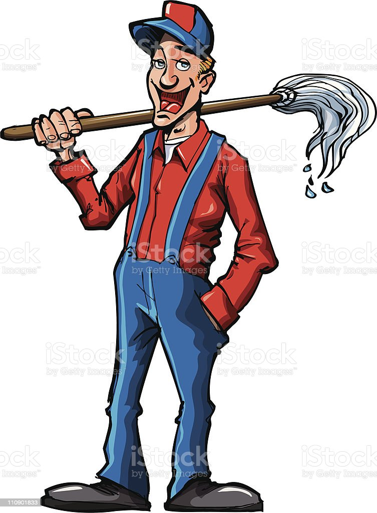 cleaner cartoon images