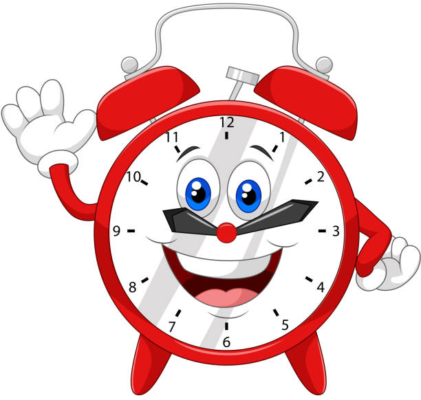 Royalty Free Cute Alarm Clock Clip Art, Vector Images ...