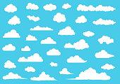 Cloud balloon icon , element set