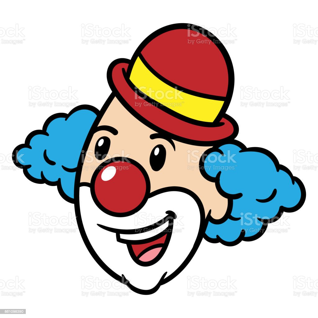 Dessin de Clown - Illustration vectorielle