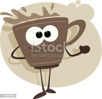 cartoon coffee