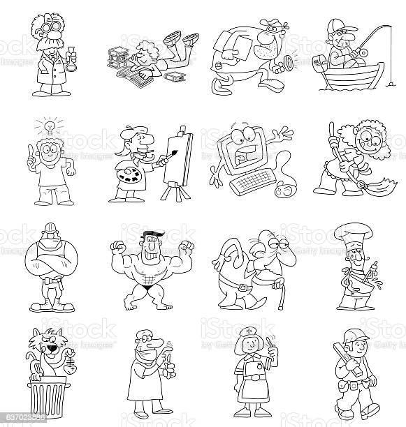 Cartoon collection vector id637023886?b=1&k=6&m=637023886&s=612x612&h=nxbl6qazhvzjhyhftftezfme4xdvy90nj8f0sq n5 q=