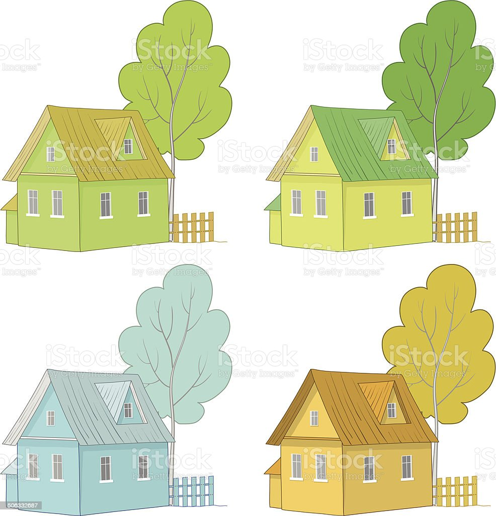 desenho de casas coloridas desenhar com um lpis coloridos wity de