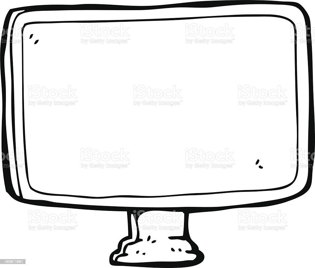 ordinateur en dessin anim cran plat cliparts vectoriels et plus d 39 images de bizarre. Black Bedroom Furniture Sets. Home Design Ideas