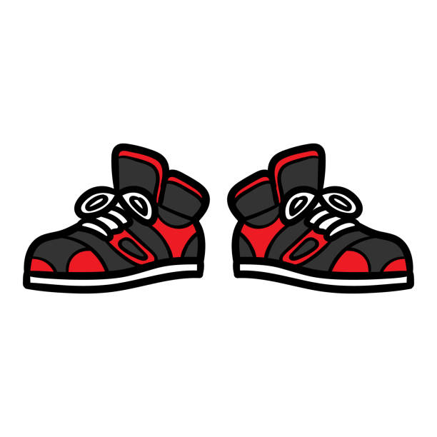 613 Cartoon Basketball Shoes Illustrations Royalty Free Vector Graphics Clip Art Istock