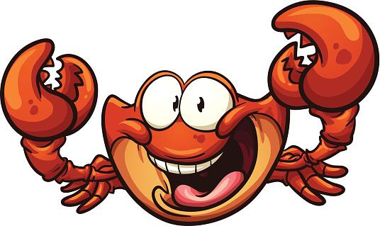 Crabe Dessin Animé Vecteurs libres de droits et plus d ...