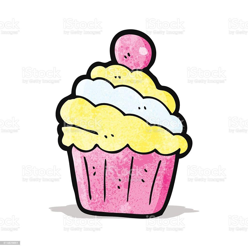 Cartoon Cupcake Stock Illustration Download Image Now Istock