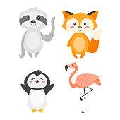 cartoon cute animals