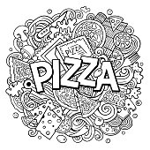 Pizza Coloring Pages At Getdrawings Com Free For Personal