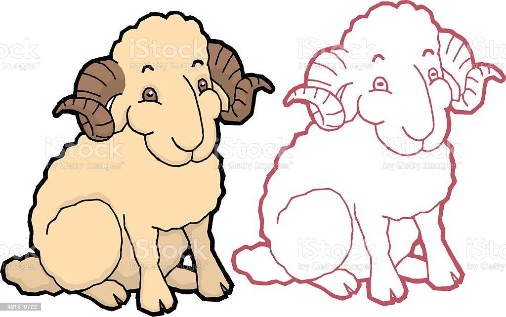 漫画かわいい羊 2015年のベクターアート素材や画像を多数ご用意 Istock