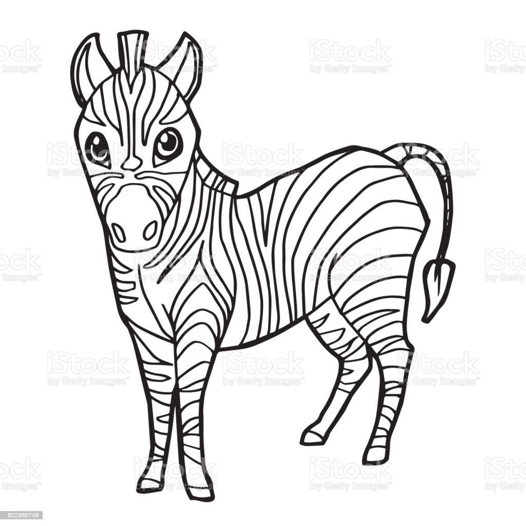 kleurplaten kleurplaat zebra