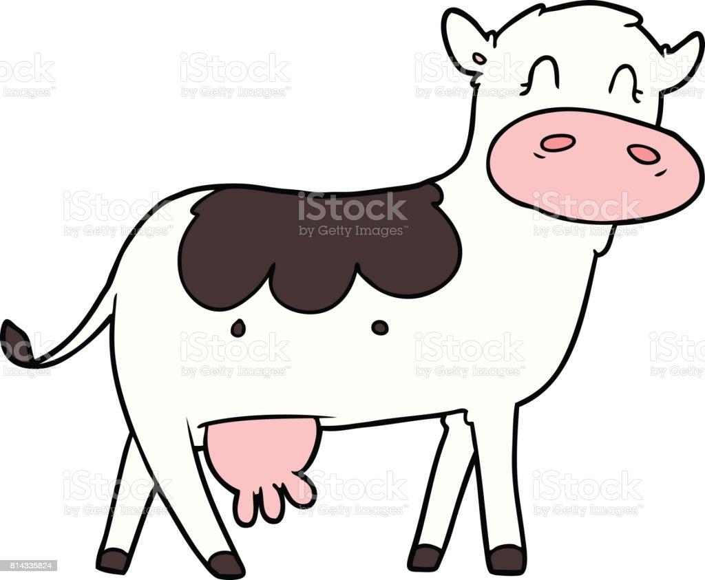 漫画乳牛 いたずら書きのベクターアート素材や画像を多数ご用意 Istock