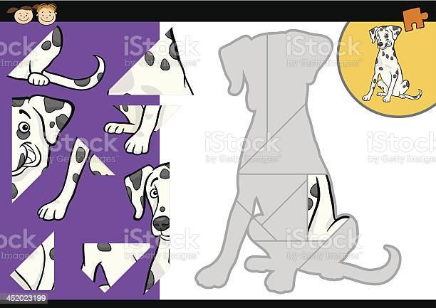 Cartoon dalmatian dog puzzle game vector id452023199?b=1&k=6&m=452023199&s=612x612&h=su2spqczyd3oksyh6uw0gg zul9g9nvq7d8atso96ks=