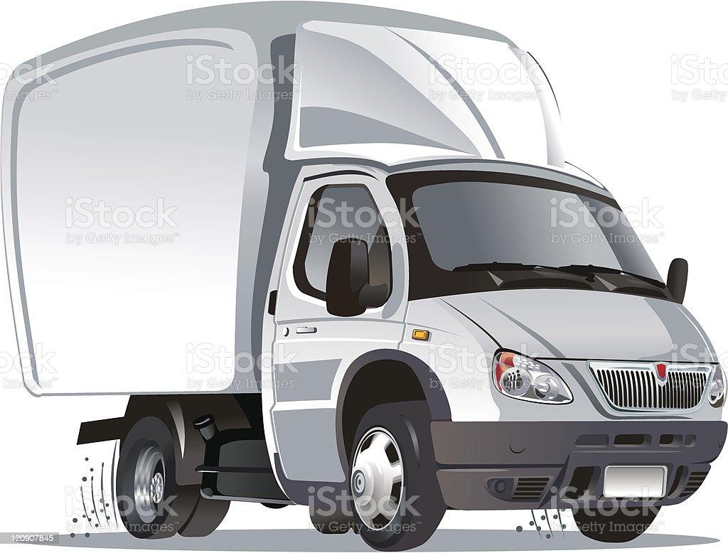 Cartoon delivery / cargo royalty-free stock vector art