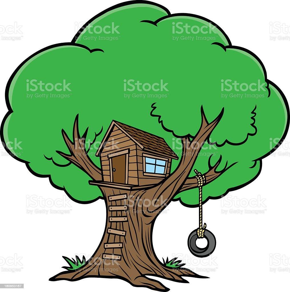 royalty free tree house clip art vector images illustrations istock rh istockphoto com tree house clip art free treehouse clipart black and white