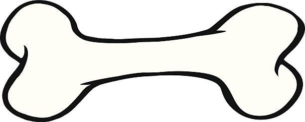 カットイラスト、犬用の骨 - 骨点のイラスト素材/クリップアート素材/マンガ素材/アイコン素材