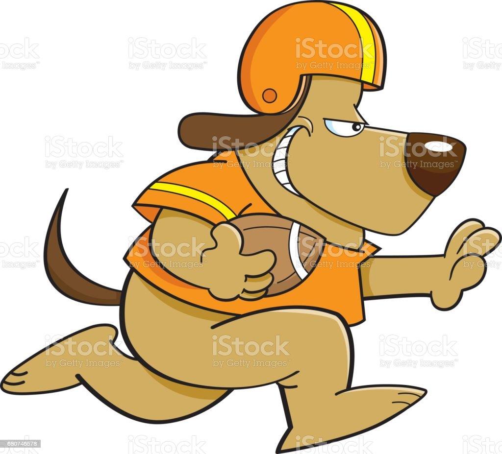 Cartoon Hund Spielen Fussball Stock Vektor Art Und Mehr