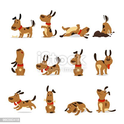 66 176 Happy Dog Illustrations Royalty Free Vector Graphics Clip Art Istock