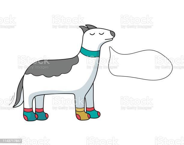 Cartoon dog with speech bubble vector id1143717857?b=1&k=6&m=1143717857&s=612x612&h=uyfi0 ulghfxhgd7msgy3nasi9gfxzti6mzl tzjbbk=