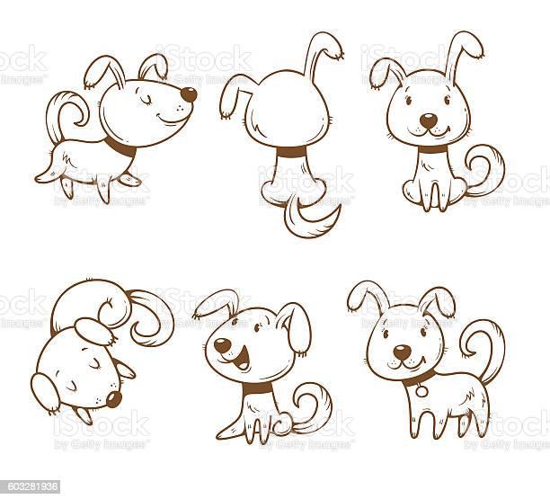 Cartoon dogs set vector id603281936?b=1&k=6&m=603281936&s=612x612&h=crjavsaa1cmpv2puojzzoyhbulwd0nqsuq25ktap 3g=