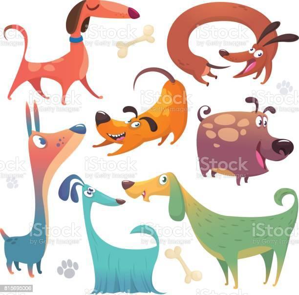 Cartoon dogs set vector illustrations of dogs icons retriever vector id815695006?b=1&k=6&m=815695006&s=612x612&h= f  o93iozuzoaw eizn3x7tm8r5mttcrurhhuub kk=