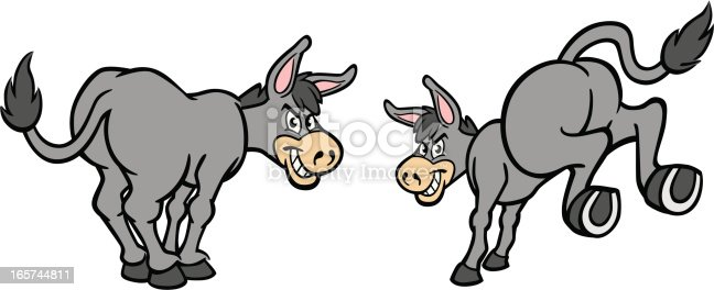 Great set of cartoon donkeys. Perfect for when you need a humorous illustration. EPS and JPEG files included. Be sure to view my other illustrations, thanks!