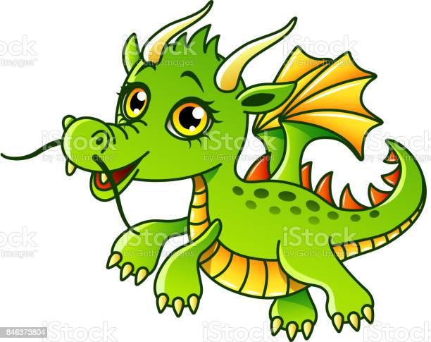 Cartoon dragon isolated vector illustration vector id846373804?b=1&k=6&m=846373804&s=612x612&h=y49lq2y nszm8yvmmorh6afmeifizmrfxiqve6qtnrc=