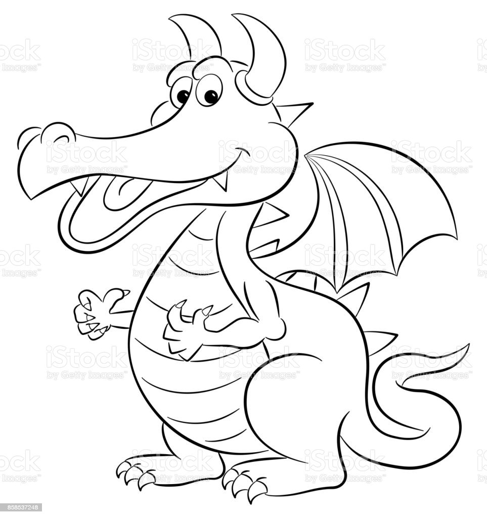Dragon dessin animé dragon dessin animé cliparts vectoriels et plus dimages de adulte