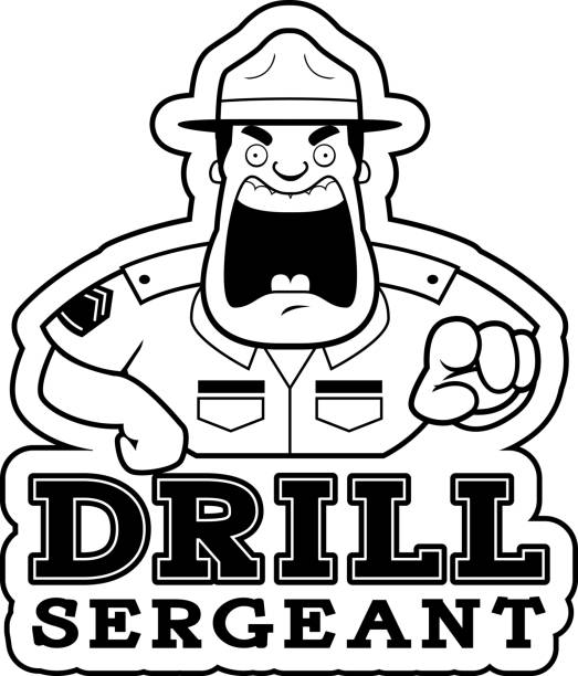 Royalty Free Drill Instructor Clip Art, Vector Images ...