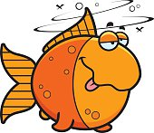 Cartoon Drunk Goldfish