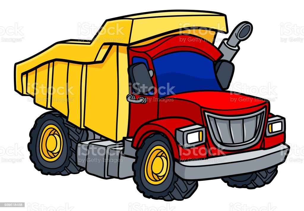 royalty free toy truck clip art vector images illustrations istock rh istockphoto com clipart truck driver clip art truck repair