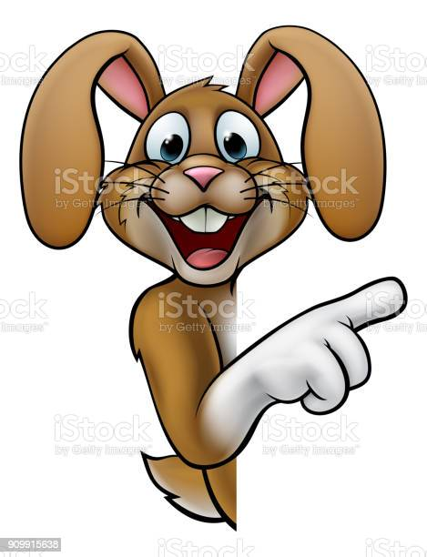 Cartoon easter bunny rabbit pointing vector id909915638?b=1&k=6&m=909915638&s=612x612&h= w9p8qisdtonla z6d0c5nxxghrqcctw50txn7rqe2m=