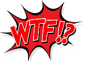 Comic boom WTF icon