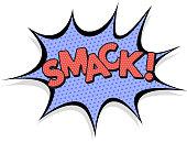 Smack, Cartoon, Comic Book Effect
