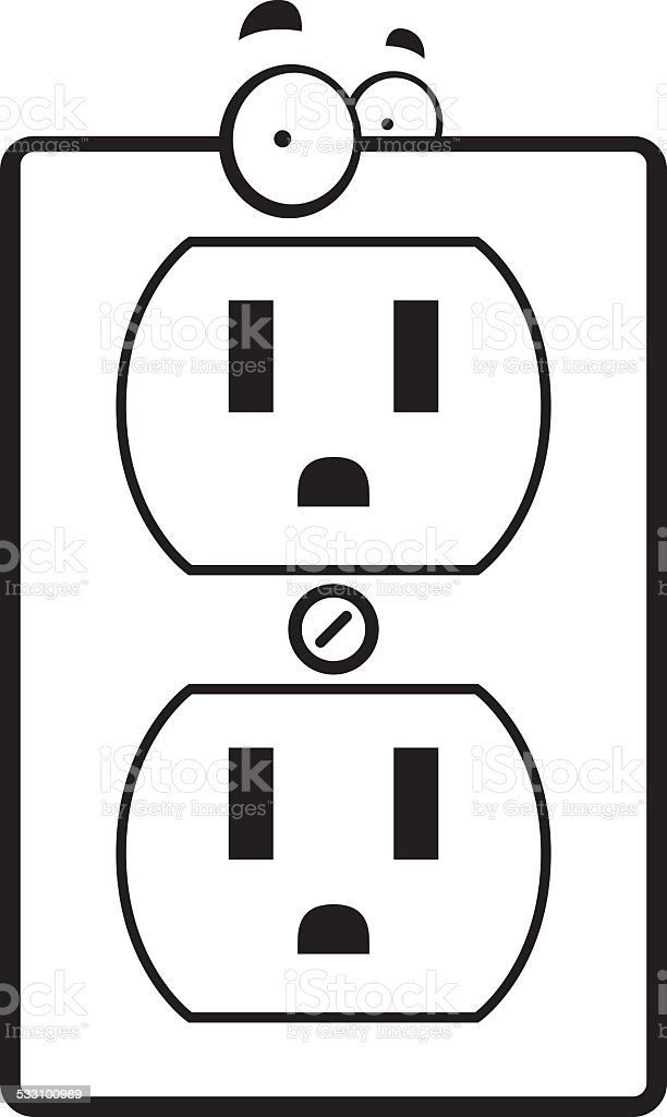 cartoon electrical outlet stock vector art  u0026 more images