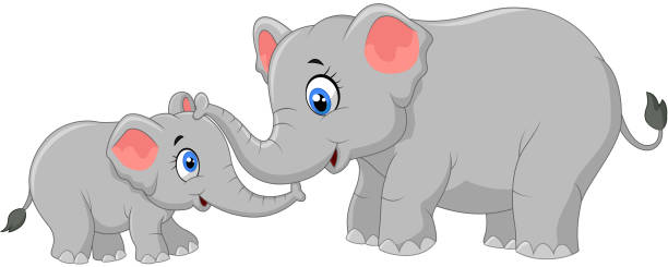Best Baby Elephant Illustrations, Royalty-Free Vector ...