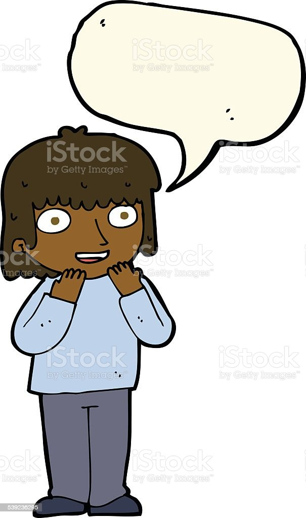 cartoon excited person with speech bubble royalty-free cartoon excited person with speech bubble stock vector art & more images of adult