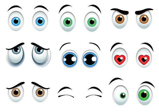 99 272 Cartoon Eyes Illustrations Royalty Free Vector Graphics Clip Art Istock