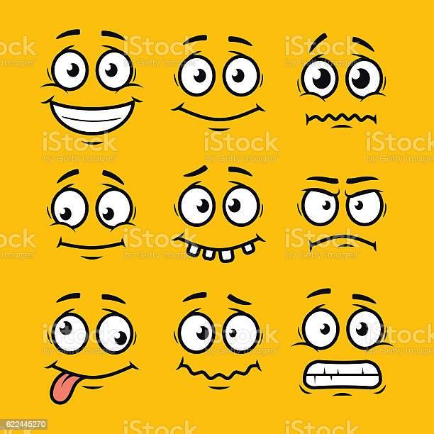 Cartoon faces set vector id622445270?b=1&k=6&m=622445270&s=612x612&h=vfymmrzx7h9uj cbqdmqdkzox tg3foi14odoe8x05i=