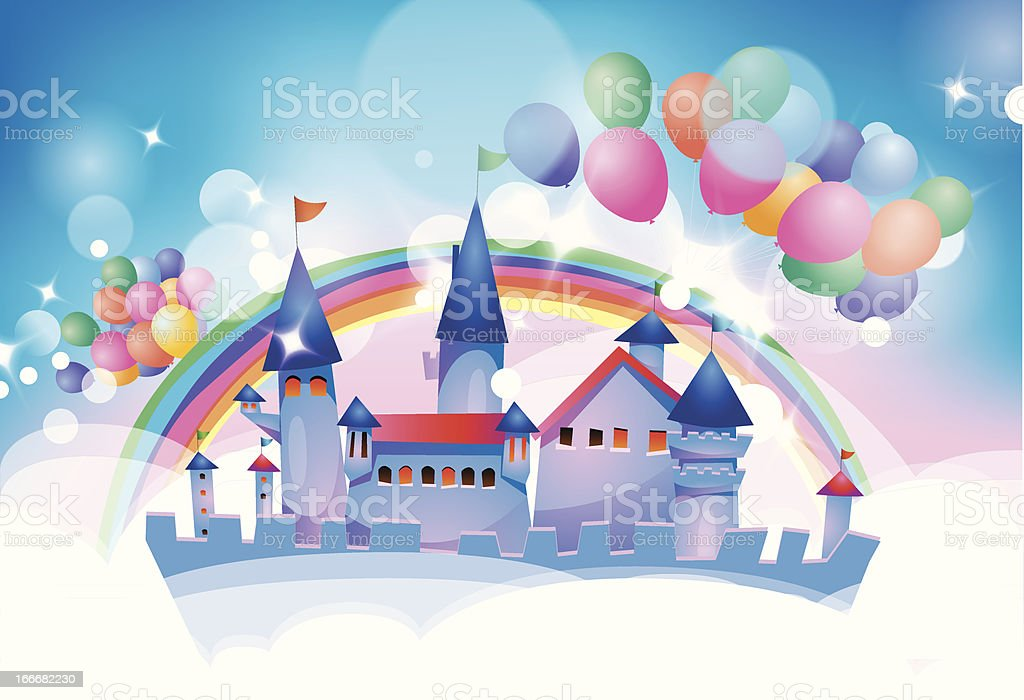 Cartoon fairy tale castle royalty-free cartoon fairy tale castle stock vector art & more images of anniversary