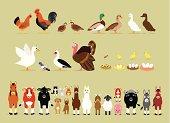 Cartoon Farm Characters (Part 2)
