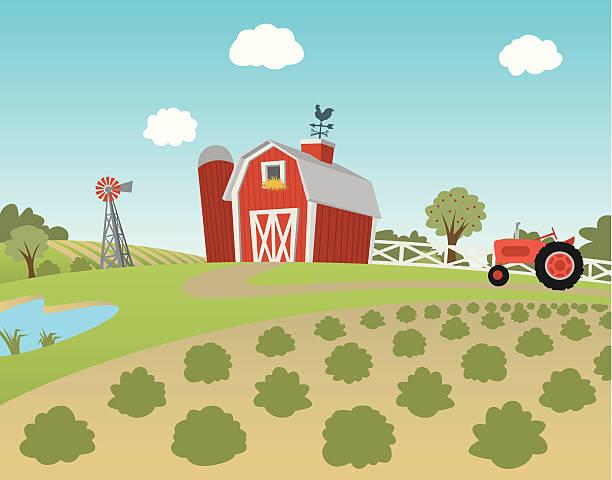 Best Barn Illustrations, Royalty-Free Vector Graphics ...