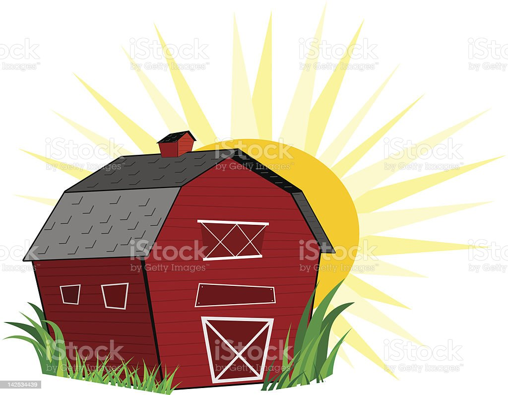 red barn doors clip art. cartoon farm vector art illustration red barn doors clip 6