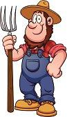 Cartoon farmer