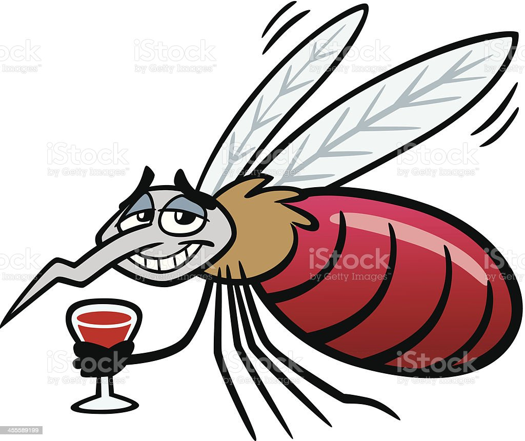 Cartoon Fat Mosquito royalty-free cartoon fat mosquito stock vector art & more images of animal